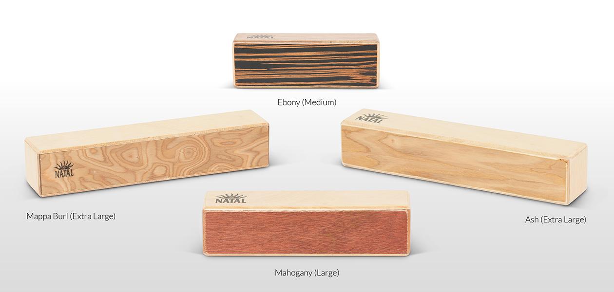 Oblong Wood Shaker