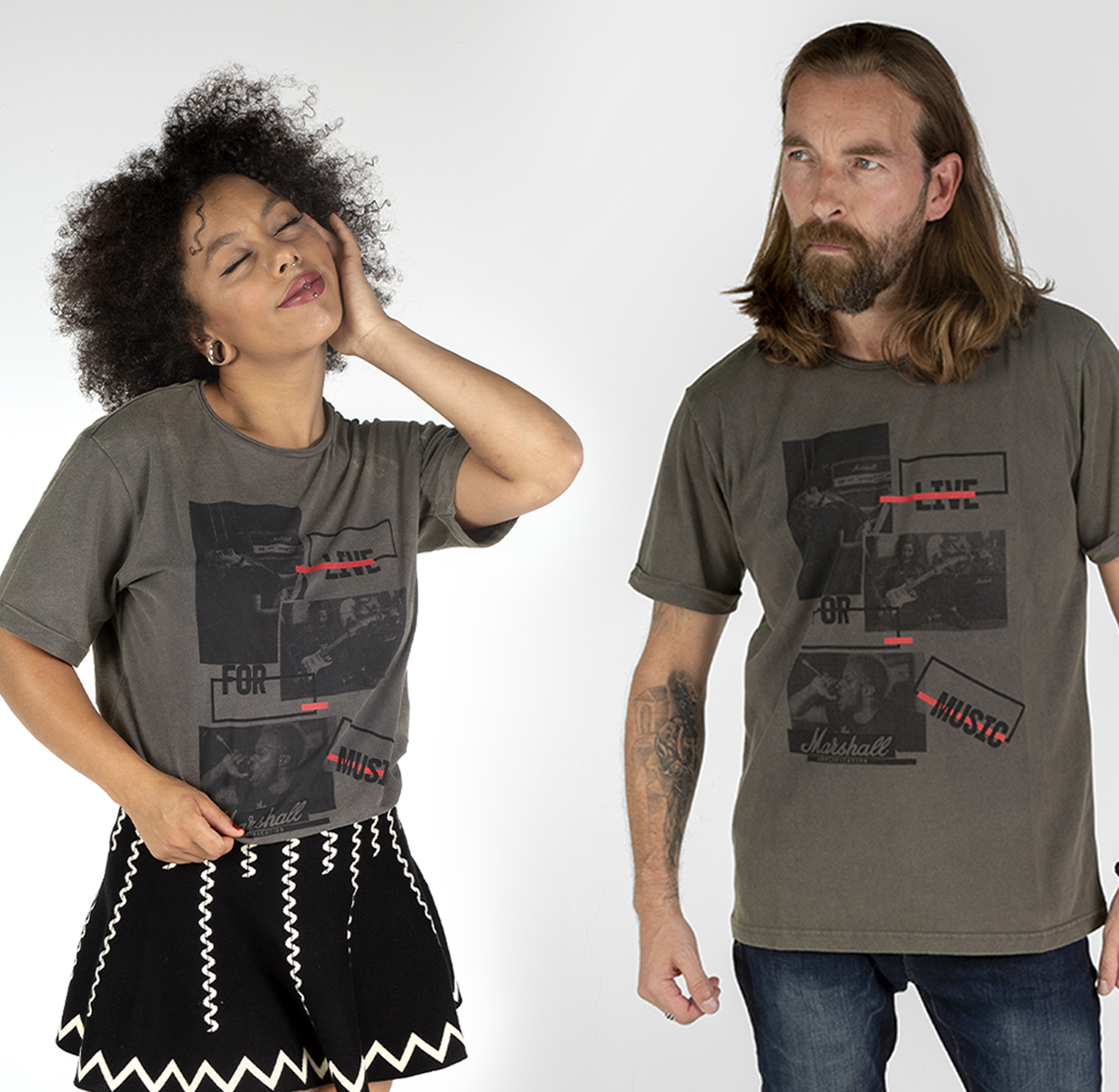 Live For Music T-Shirt