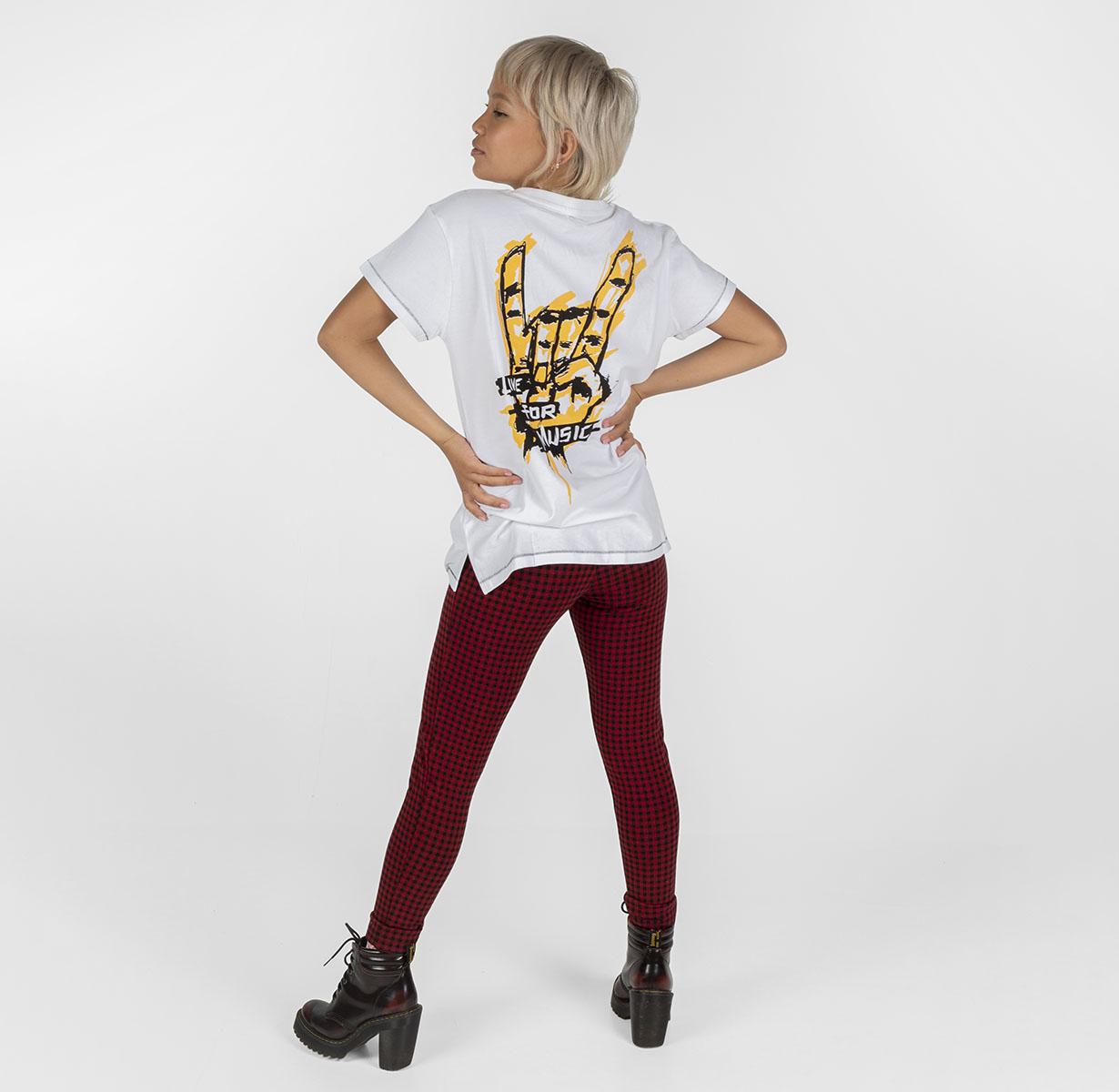 Yellow Rock It Women's T-Shirt